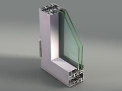 - Aluminium casement window NC 75 STH-i - METRA