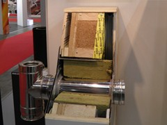 - Thermal insulation for HVAC pipe Kit materiali combustibili per muro - ALA - Distributore POUJOULAT