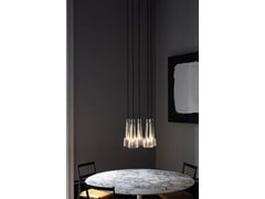 - Direct light crystal chandelier KEULE 5 - J.T. Kalmar