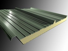 - Insulated metal panel for roof ISOMETAL 3G - Isometal