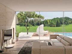 Vetrata panoramica in alluminioORAMA MINIMAL FRAMES - ATELIER ITALIA