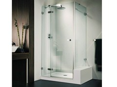 - Crystal shower cabin VETRA 3000 - DUKA