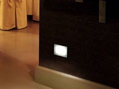 - LED glass and aluminium foot- and walkover light STILE NEXT 103 - Lombardo