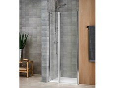 - Crystal shower cabin with tray VELA 2000 - DUKA