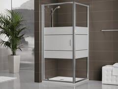 - Crystal shower cabin with sliding door DUKESSA-S 3000 - DUKA