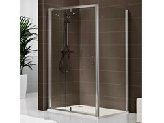 - Rectangular crystal shower cabin DUKESSA-S 3000 - DUKA