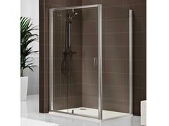 - Rectangular crystal shower cabin DUKESSA-S 3000 - DUKA
