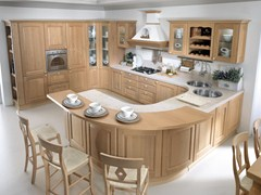 - Chestnut kitchen VERONICA | Chestnut kitchen - Cucine Lube