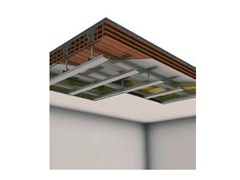 - Sound insulation and sound absorbing panel in mineral fibre CONTROSOFFITTO IN ADERENZA D112 - Knauf Italia