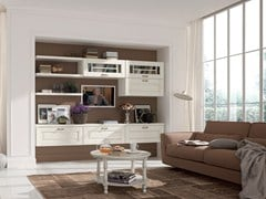 - Wooden storage wall LAURA | Storage wall - Cucine Lube