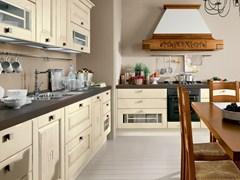 - Decapé wooden kitchen with handles LAURA | Decapé kitchen - Cucine Lube