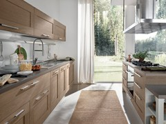 - Wooden kitchen with island GALLERY | Kitchen - Cucine Lube