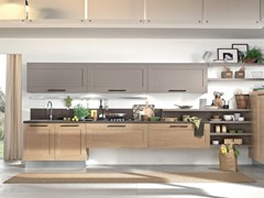 - Wooden kitchen with handles GALLERY | Kitchen with handles - Cucine Lube