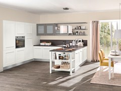 - Lacquered kitchen with integrated handles GALLERY | Kitchen with integrated handles - Cucine Lube