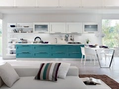 - Lacquered kitchen with handles GALLERY | Lacquered kitchen - Cucine Lube