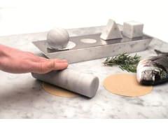 Accessorio cucina in marmo bianco di CarraraELEMENTARE - OPINION CIATTI