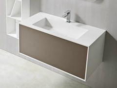 - Rectangular wall-mounted washbasin GIANO | Rectangular washbasin - Rexa Design