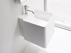 - Wall-mounted Korakril™ washbasin OPUS | Wall-mounted washbasin - Rexa Design