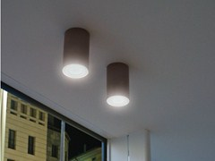 - LED cement ceiling lamp CEMENTO STYLE 120T | Ceiling lamp - Lombardo