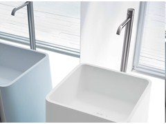 - Floor standing washbasin tap BREZZA | Floor standing washbasin tap - Rexa Design