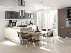 - Solid wood fitted kitchen GEORGIA | Kitchen - Cucine Lube