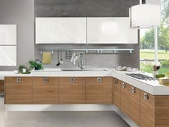 Lacquered wall-mounted fitted kitchen PAMELA | Kitchen - Cucine Lube