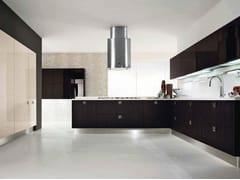 - Cocina integral de madera con tiradores NILDE | Cocina - Cucine Lube