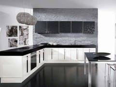 - Cocina integral lacada de madera con tiradores NILDE | Cocina de madera - LUBE INDUSTRIES S.R.L.