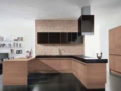 - Cocina integral de madera sin tiradores NILDE | Cocina integral - Cucine Lube