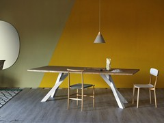 - Rectangular table GUSTAVE | Oak table - Miniforms