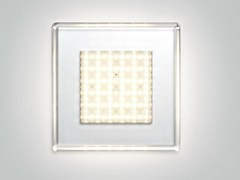 - Polycarbonate wall lamp / ceiling lamp QUADRILED | Ceiling lamp - Fabbian