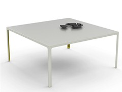 - Square metal table MORE 45   Square table - ESTEL GROUP