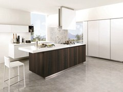 - Wooden fitted kitchen FILOANTIS 14 - Euromobil