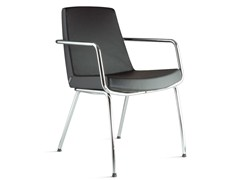 - Reception chair with armrests JOLLY | Chair with armrests - Ares Line