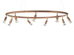 - Adjustable copper pendant lamp STAR RUND | Copper pendant lamp - Örsjö Belysning