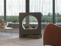 - Outdoor bioethanol fireplace MILANO - BRITISH FIRES