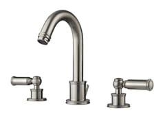 - 3 hole countertop washbasin tap LIBERTY | 3 hole washbasin tap - Bossini