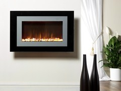 - Electric wall-mounted fireplace AYSTON - BRITISH FIRES