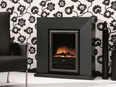 - Electric wall-mounted fireplace DIABLO SUITE - BRITISH FIRES