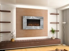 - Electric wall-mounted fireplace ASHWELL - BRITISH FIRES