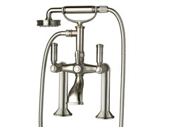 - Brass bathtub mixer with hand shower LIBERTY | Bathtub mixer - Bossini