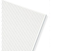 - Plasterboard ceiling tiles THERMATEX SYMETRA RG 2,5 - 10 - Knauf Italia