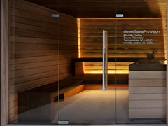 - Turkish bath for chromotherapy with shower SWEET SAUNA PRO VISION - STARPOOL