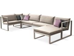 - Sectional Batyline® garden sofa MODULAR LOUNGE | Modular sofa - FueraDentro