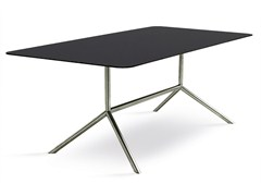- Design rectangular steel garden table SHELL DINING 200 | dining table - FueraDentro