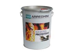 Pittura intumescente bianca idrodiluibileIGNISTEEL PROTETTIVO - CAP ARREGHINI