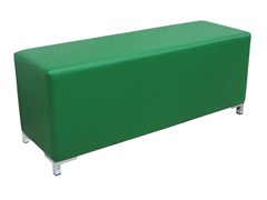 - Imitation leather pouf / bench POUF-RET-S - Vela Arredamenti