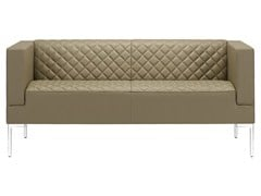- 3 seater sofa MATRIX MATELASSÉ | Sofa - SitLand