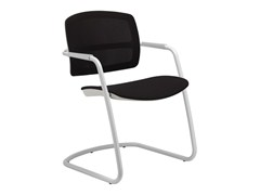 - Cantilever ergonomic chair with armrests PK | Cantilever chair - SitLand