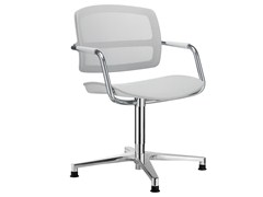 - Chair with 4-spoke base with armrests PK | Chair with armrests - SitLand